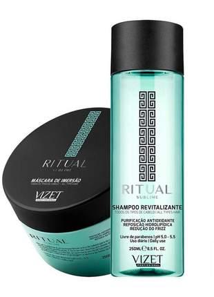 Kit home care ritual sublime shampoo + máscara vizet