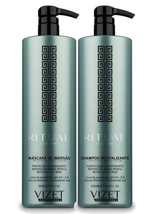 Kit shampoo + máscara ritual sublime vizet