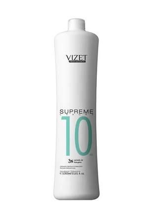 Água oxigenada supreme 10 volumes vizet profissional 1000ml