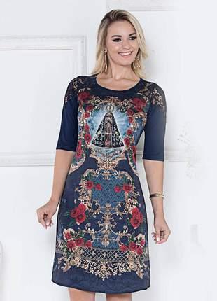 Vestido nossa senhora aparecida - coleção ágape