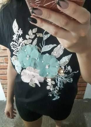 T-shirt flores