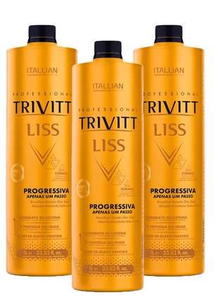 Combo progressiva trivitt itallian 1l (3 itens)