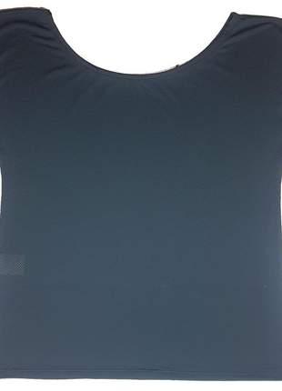 Camisa fitness academia lisa dry fit ombro caído feminino