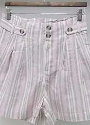 Shorts cós alto.