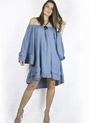 Vestido dress code moda azul