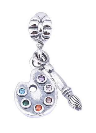 Berloque pingente paleta godê para bracelete pulseira da vivara ou pandora