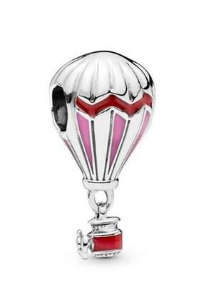 Berloque balão compatível com as pulseiras pandora ou vivara
