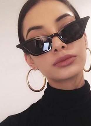 Óculos de sol gatinho vintage moda blogueira