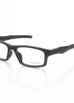 Armacao de óculos oakley crosslink ox8037 toda preta
