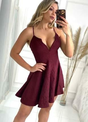 Vestido jacquard a favorita