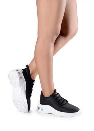 Tênis feminino sneaker plataforma blogueira