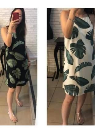 Black apreciar moda _ vestido folhagens