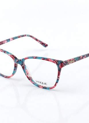 Armacao de óculos feminino vogue - vo5155 colorido