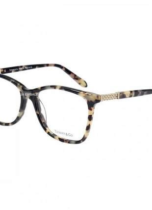 Oculos armação de grau - tiffany & co. - tf 2116b - creme tartaruga