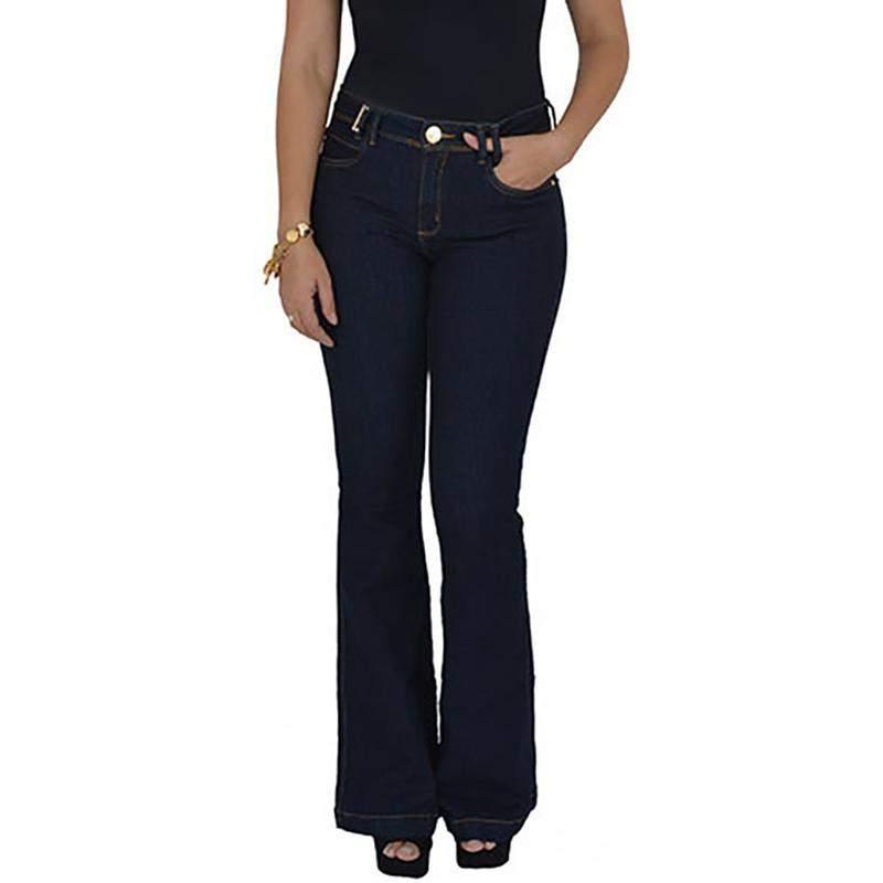 c92c67b51 Calça jeans flare lança perfume promoção - R$ 159.90 #8410, compre ...
