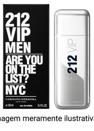 Perfume 212 vip men importado