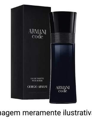 Perfume armani code importado