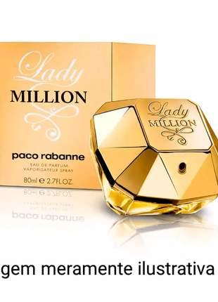 Perfume feminino lady million  importado