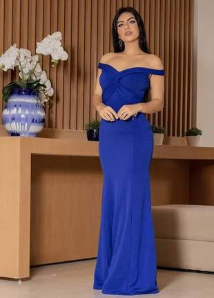Vestido madrinha de casamento festa noiva civil cartório formatura gestante longo fenda