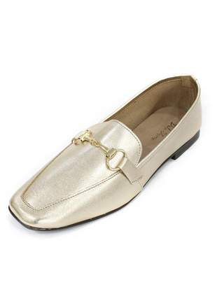 Mocassim paula dali shoes couro