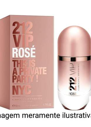 Perfume feminino 212 vip rosé importado