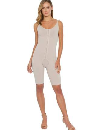 Cinta body modelador estético pliè com pernas pós cirúrgico alta compressão - 50329