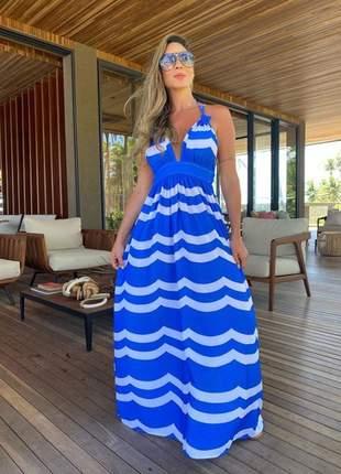 Vestido longo summer malta