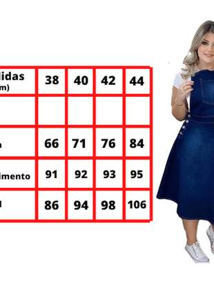 Jardineira evangelica jeans salopete vestido rodado cristã
