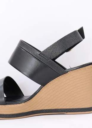 Anabela  feminino casual confortável sandália leve