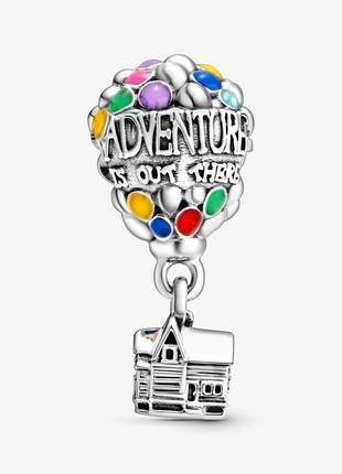 Berloque balão magico colorido pingente charm compatível com bracelete pandora vivara
