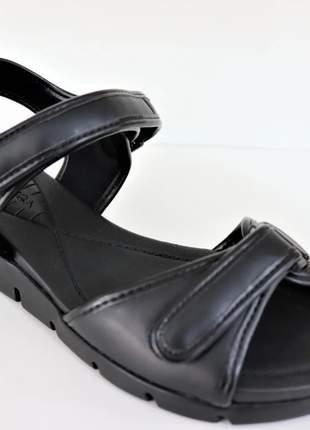 Sandália  feminina básica prática confortável