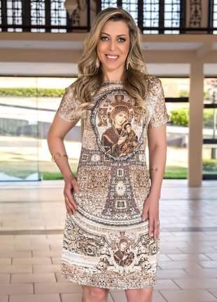 Vestido nossa senhora do perpétuo socorro - coleção ágape