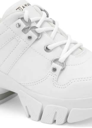 Tênis casual ramarim feminino sneaker flatform