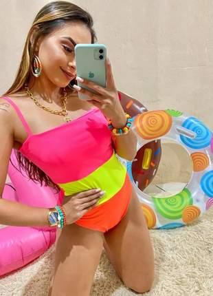Body maiô anitta neon feminino lançamento
