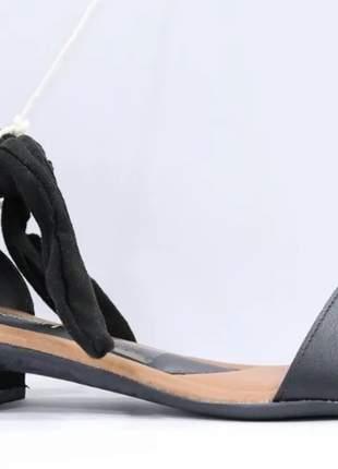 Sandália  misssissipi salto baixo feminino elegante