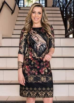 Vestido nossa senhora do rosário - coleção ágape