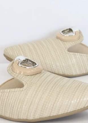 Sapato mule feminino prático  elegante casual