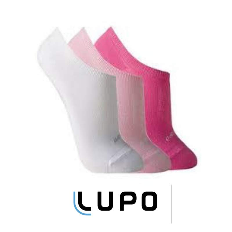 14dbc804b Kit 3 três pares meias soquete feminina lupo sapatilha invisível - 32701 ...