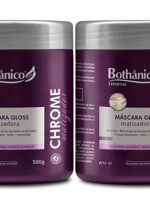 Mascara matizadora chrome bothanico hair 500g 02un