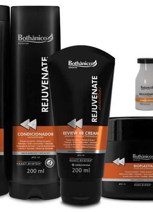 Kit rejuvenate excellens bothanico hair 05 produtos