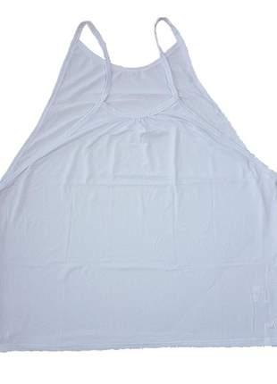 Camiseta regata fitness academia dry fit alça fina feminina