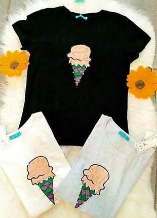 T shirt de sorvetinho