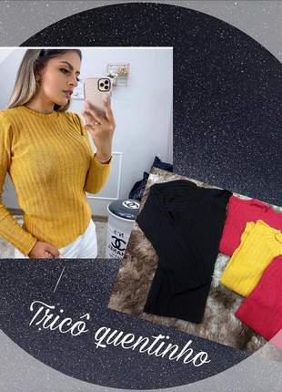 Blusas em tricô