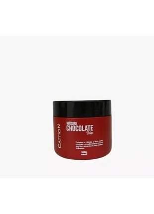Máscara hidratante chocolate belga 500g cattion