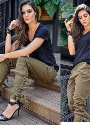 Calça  jeans sarja