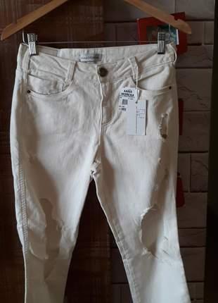 Calça jeans skini  destroyed