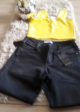 Calça jeans skini black