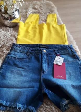 Short jeans confort