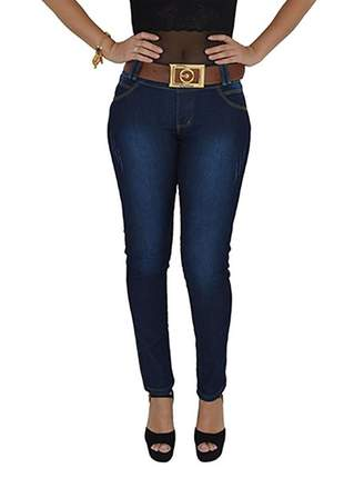 Calça jeans oxtreet com cinto