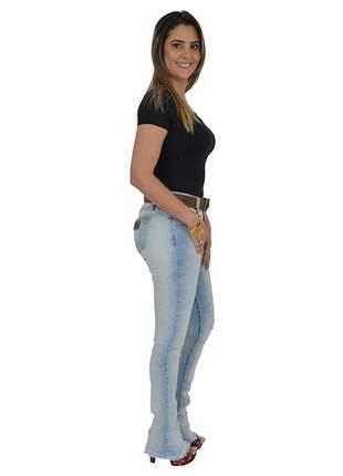 Calça jeans com cinto lança perfume promoção